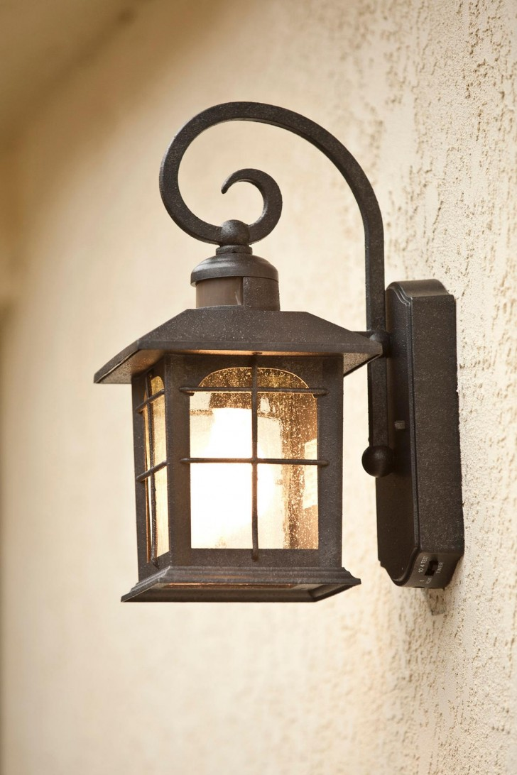 japanese outdoor wall lighting photo - 4