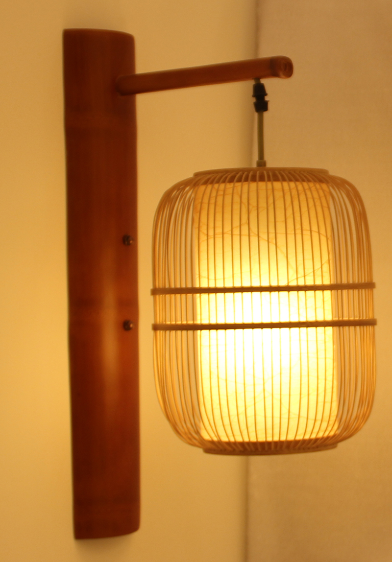 japanese outdoor wall lighting photo - 5