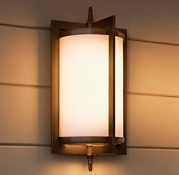 japanese outdoor wall lighting photo - 8
