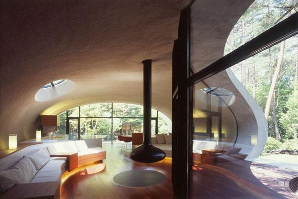 japanese shell house interior photo - 3