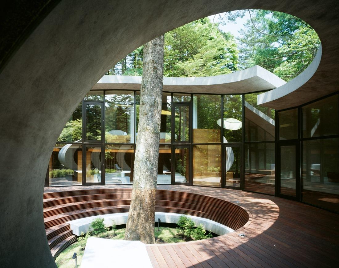 japanese shell house interior photo - 4
