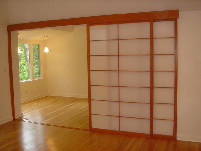 japanese shoji screens for sliding glass doors photo - 10