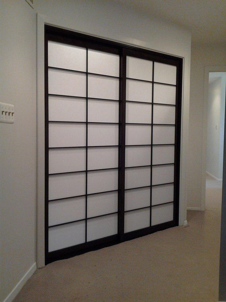 japanese shoji screens for sliding glass doors photo - 3