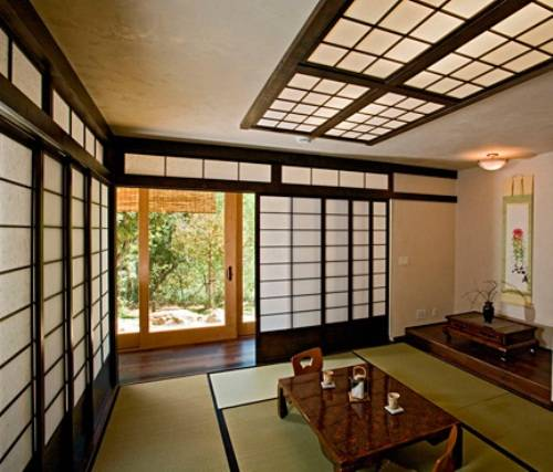 japanese shoji screens for sliding glass doors photo - 7