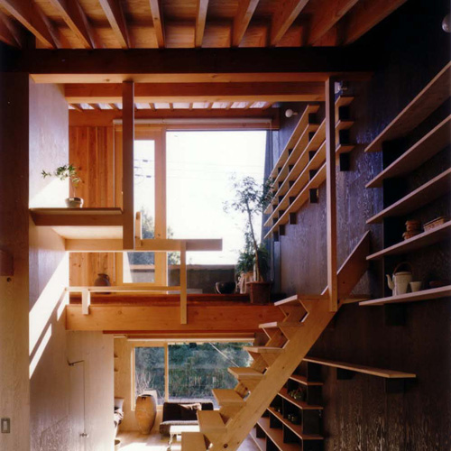japanese small house interior design photo - 1