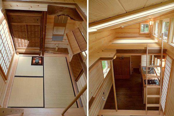 japanese small house interior design photo - 10