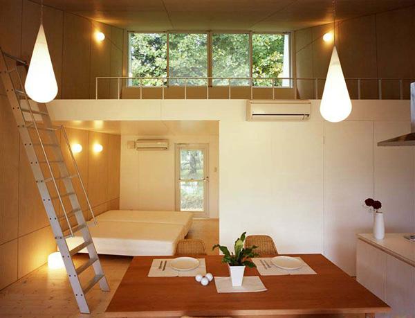 japanese small house interior design photo - 6