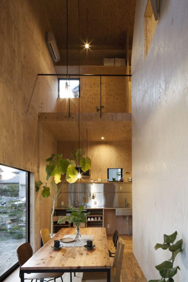 japanese small house interior design photo - 7