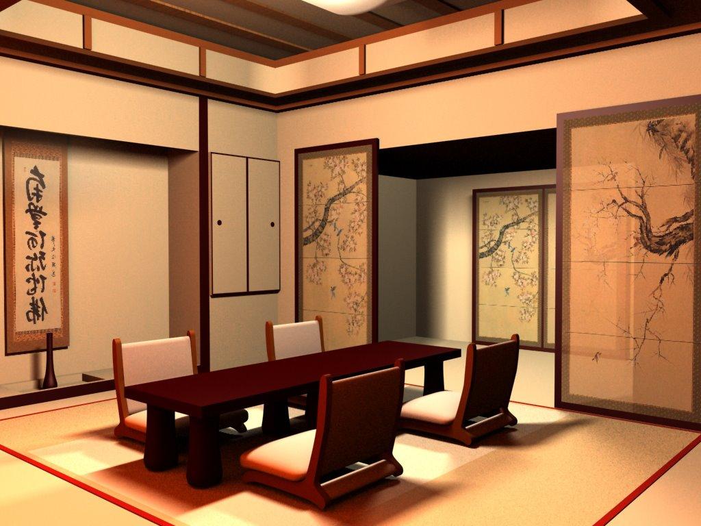 japanese style house interior photo - 1