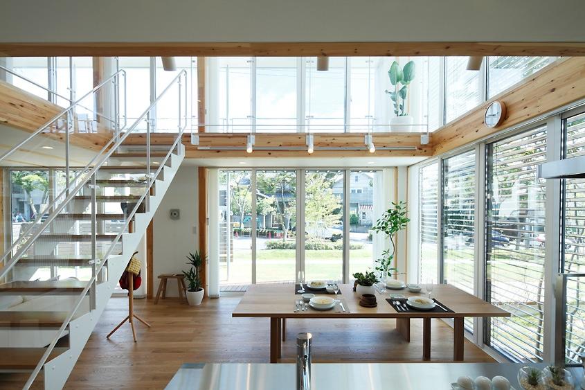 japanese style house interior photo - 2