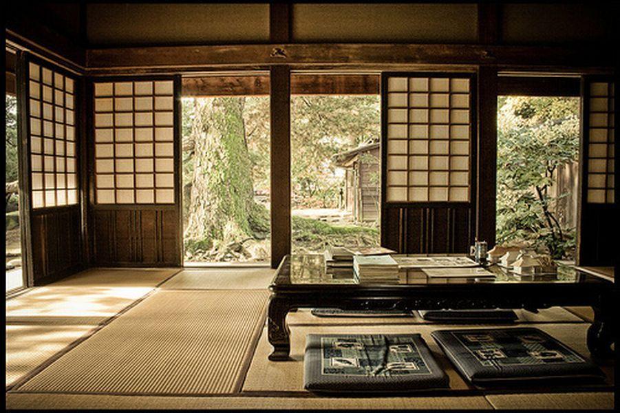 japanese style house interior photo - 6