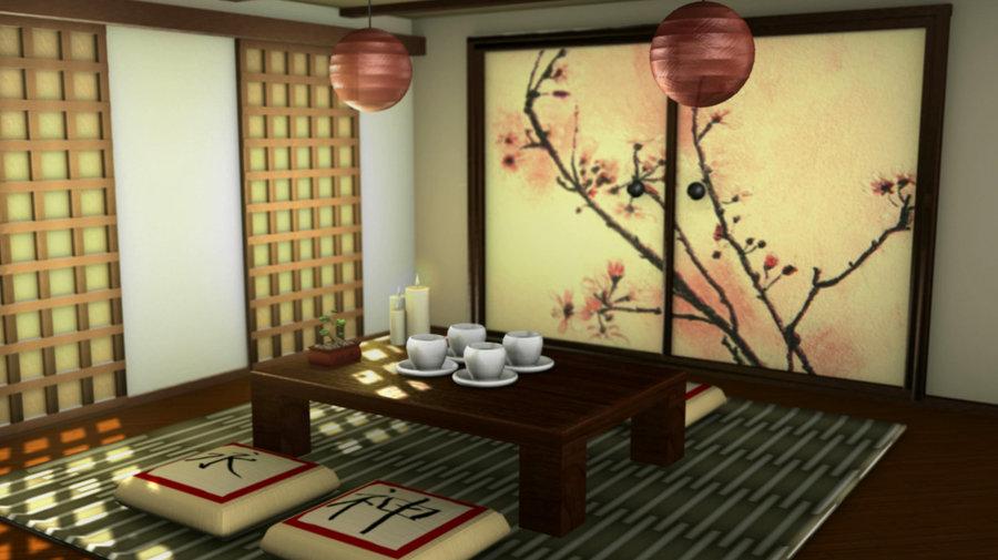 Japanese Tea House Interior Hawk Haven