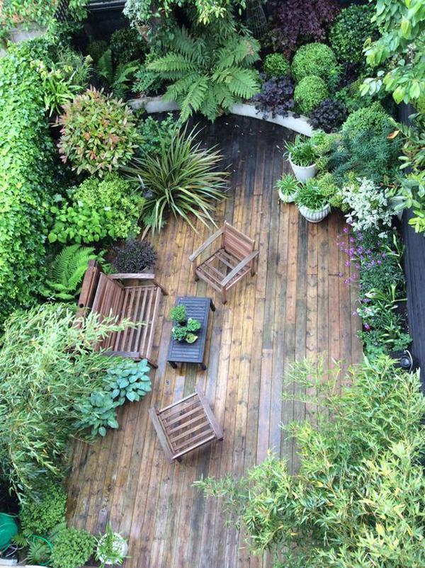 jungle garden design ideas photo - 6