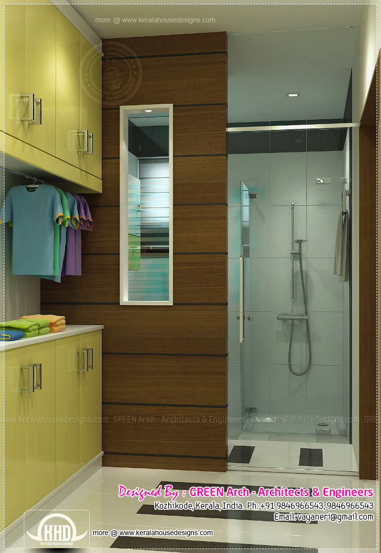 kerala home bathroom designs photo - 2