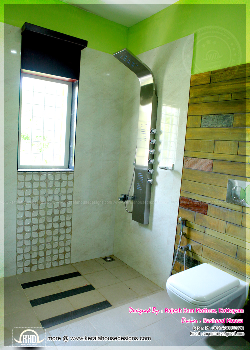 kerala home bathroom designs photo - 3