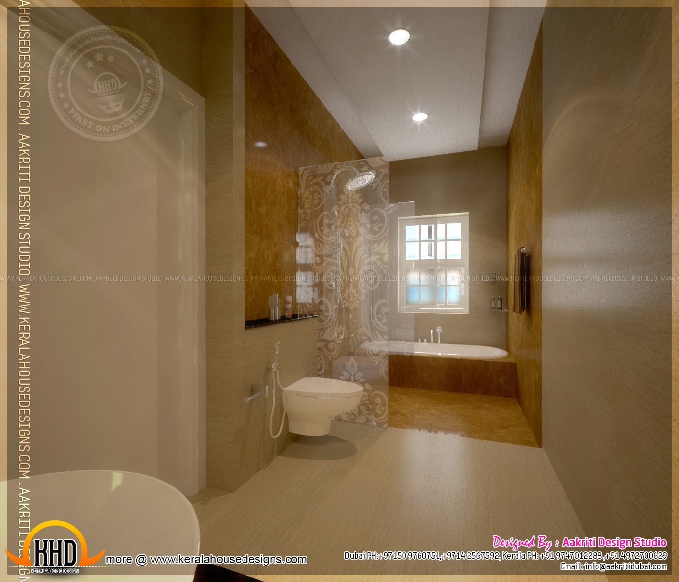 kerala home bathroom designs photo - 8