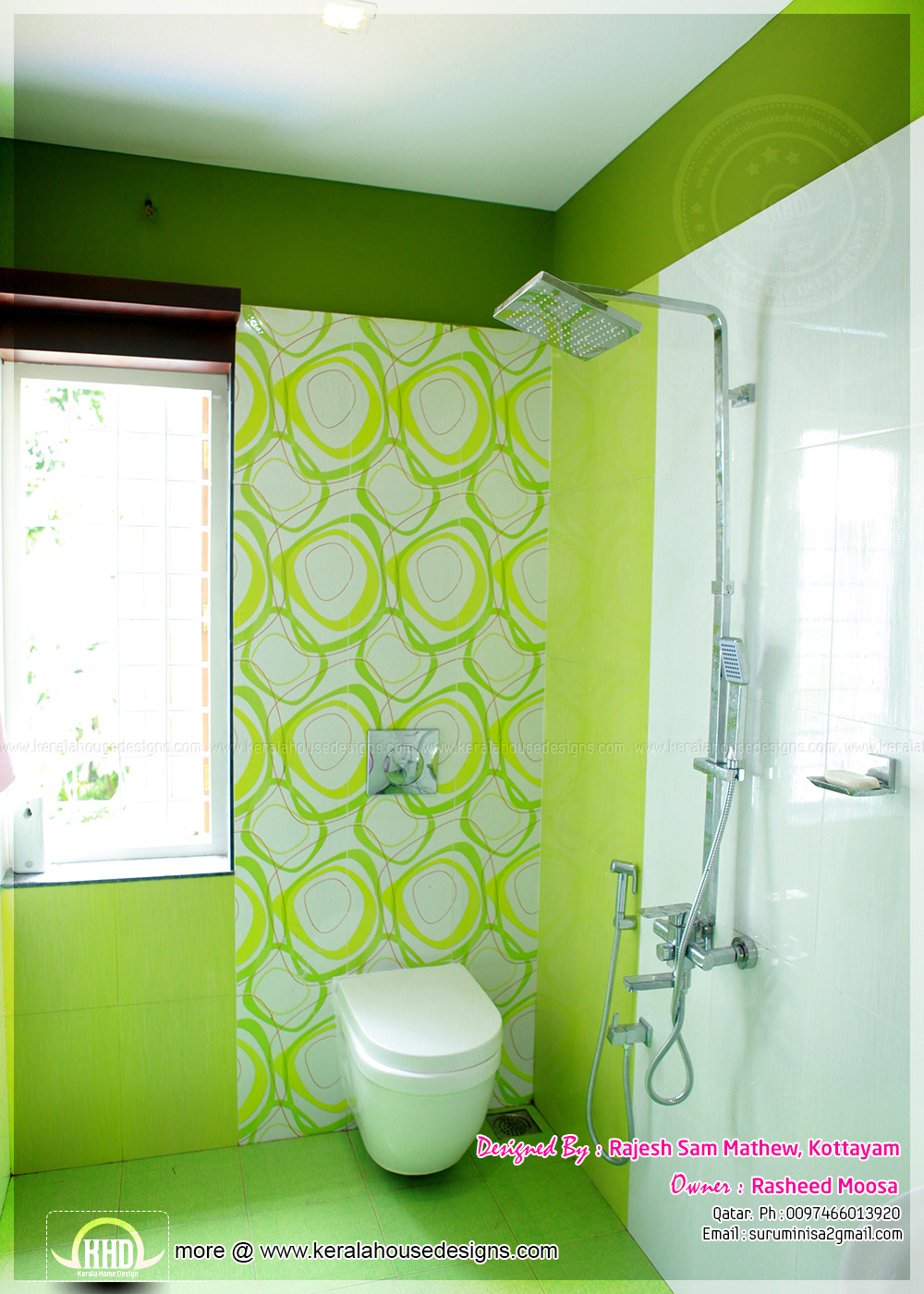 kerala home bathroom designs photo - 9