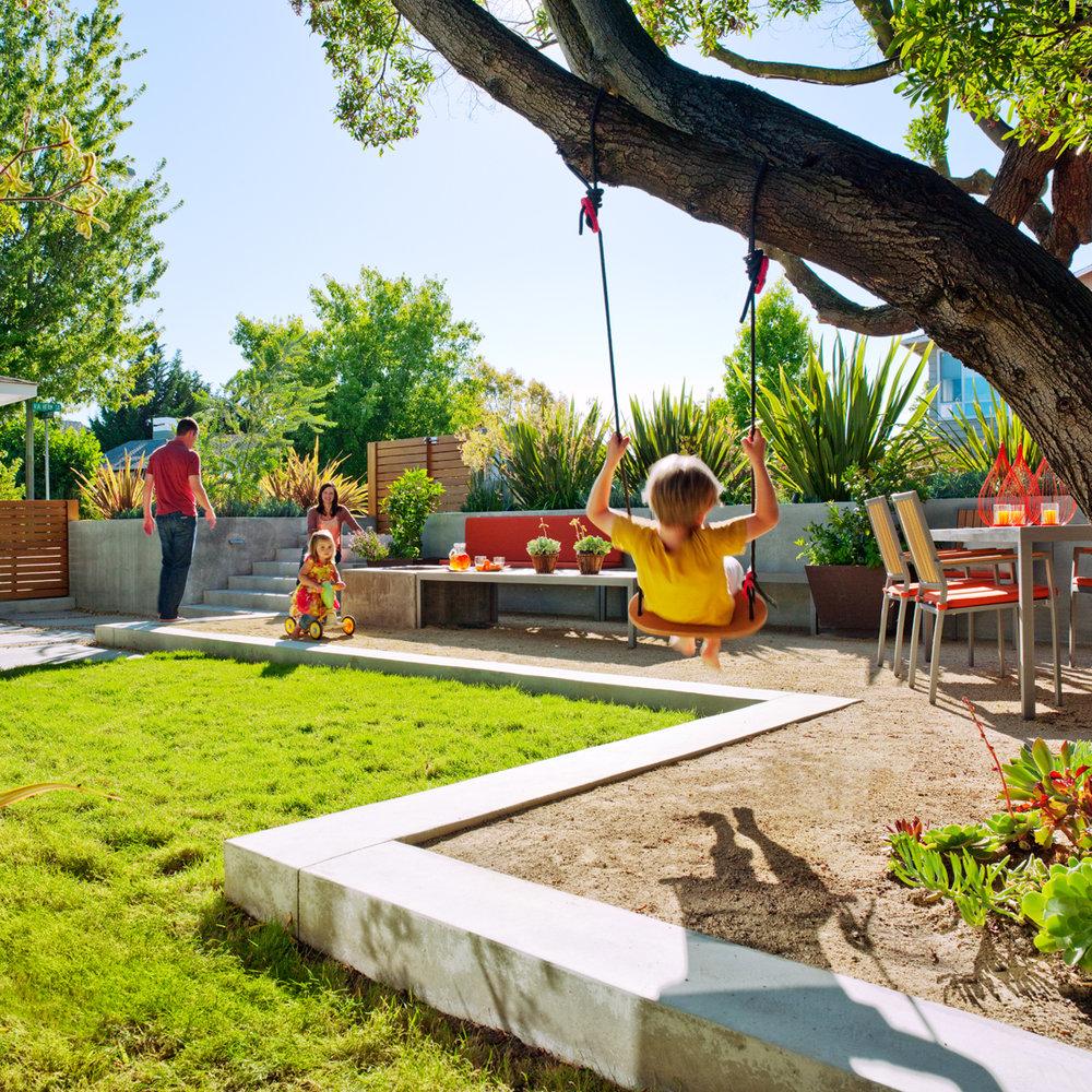 kid friendly garden design ideas photo - 3