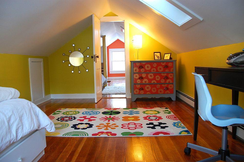 kids attic bedroom design ideas photo - 3