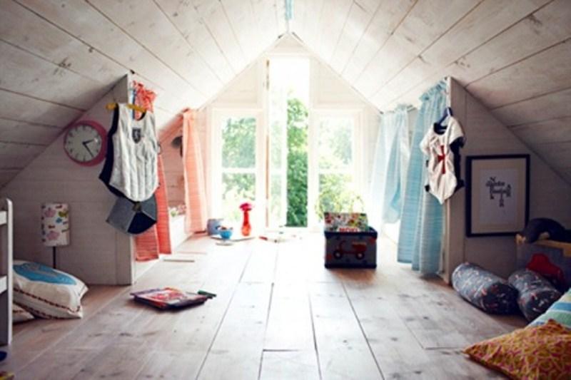 kids attic bedroom design ideas photo - 4