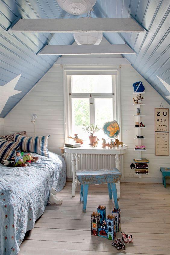 kids attic bedroom design ideas photo - 6