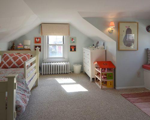 kids attic bedroom design ideas photo - 7