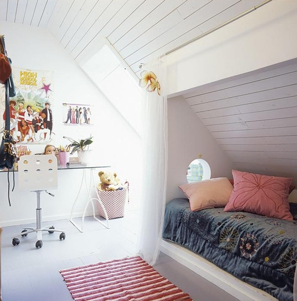 kids attic bedroom design ideas photo - 9 & Kids attic bedroom design ideas | Hawk Haven