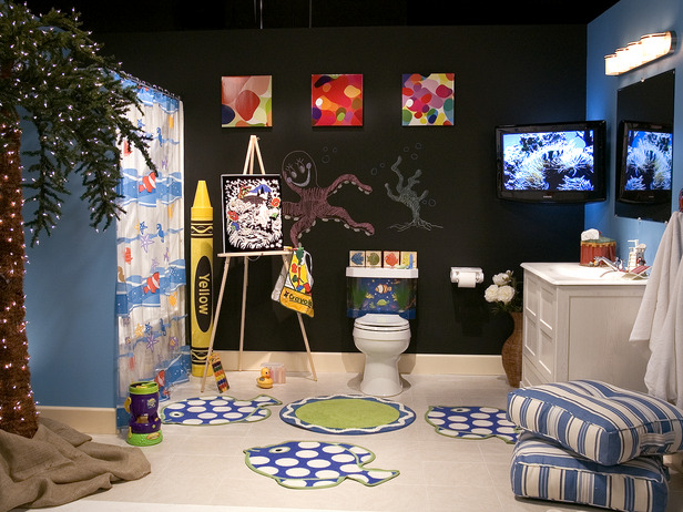kids bathroom accessories ideas photo - 8