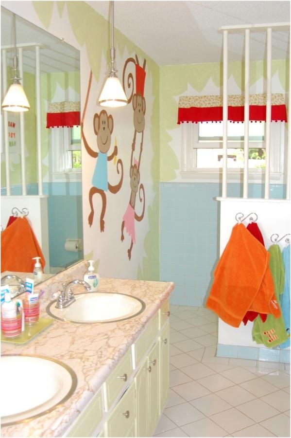 kids bathroom ideas for boys and girls photo - 4