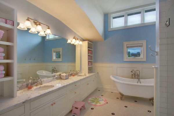 kids bathroom ideas for girls photo - 1
