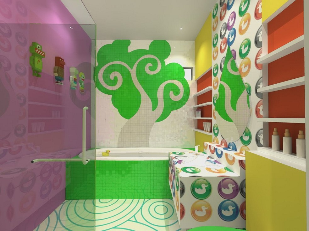 kids bathroom ideas for girls photo - 10