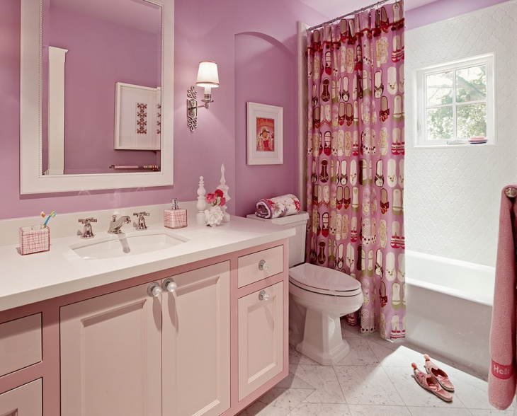 kids bathroom ideas for girls photo - 7