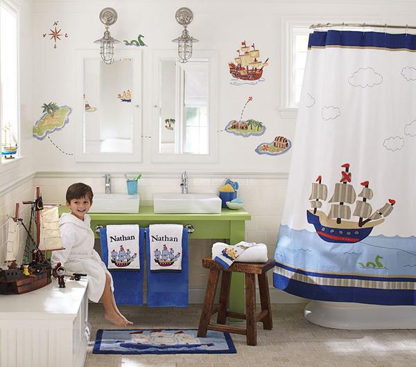 kids beach bathroom ideas photo - 1