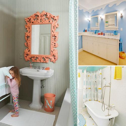 kids beach bathroom ideas photo - 3