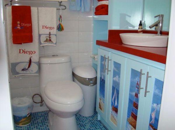 kids beach bathroom ideas photo - 6