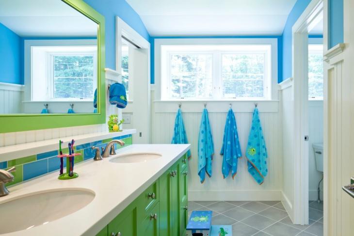 kids beach bathroom ideas photo - 7
