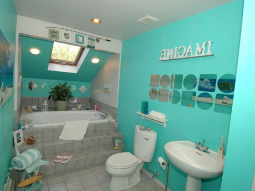 kids beach bathroom ideas photo - 8