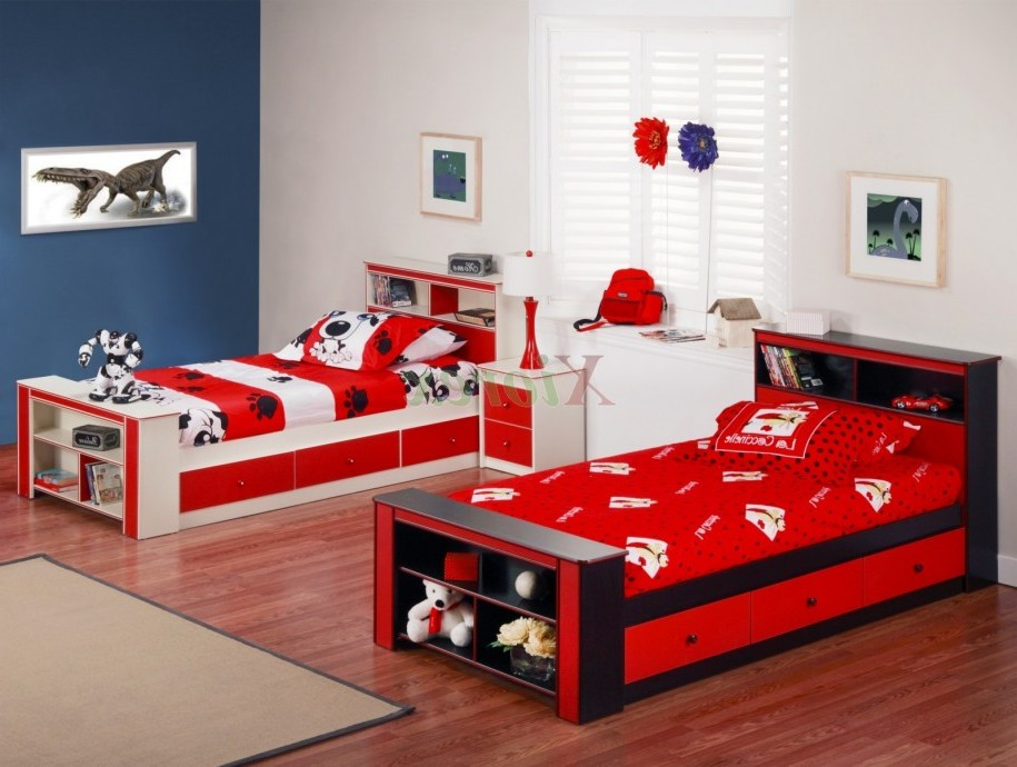 kids bedroom furniture for twins photo - 10