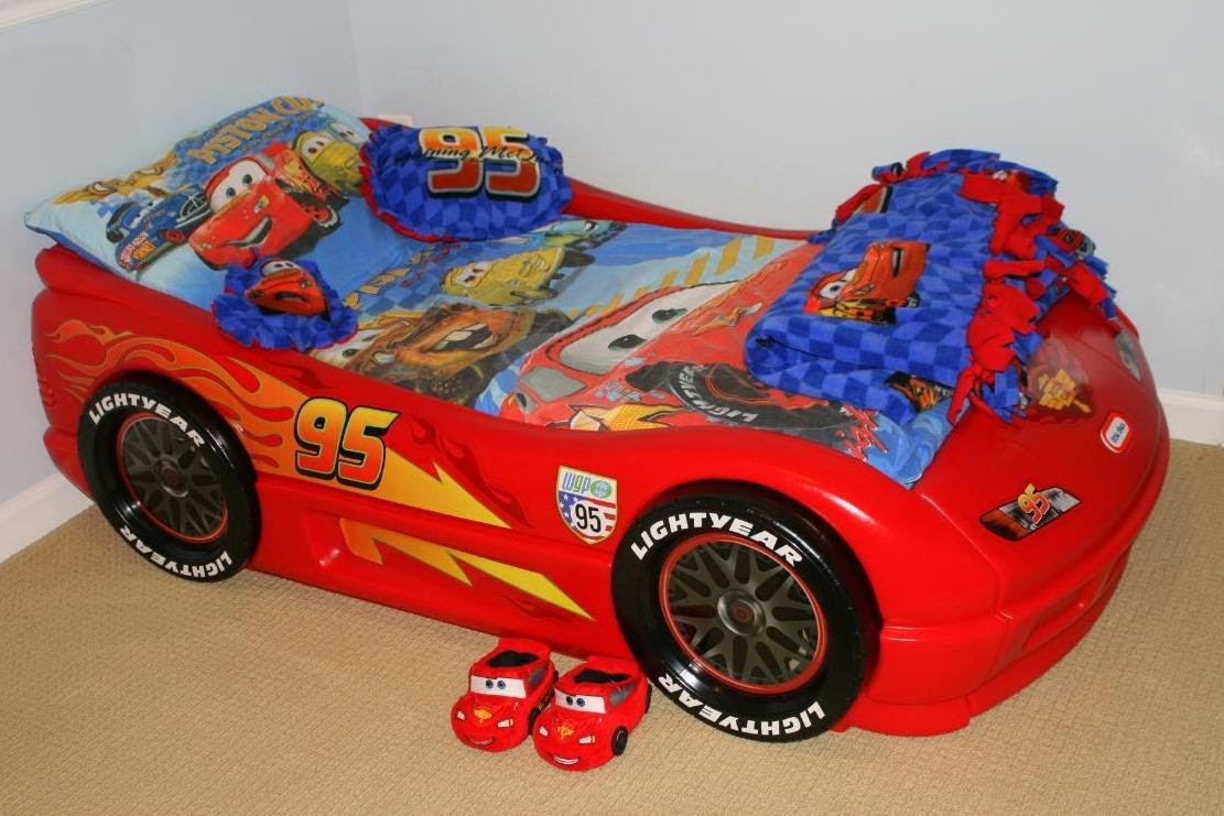 kids cars toddler bed photo - 1