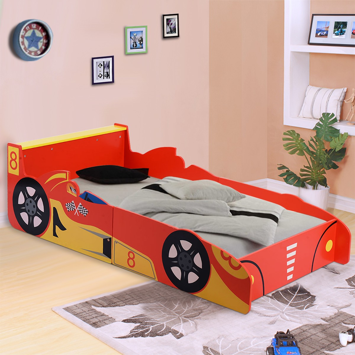 kids cars toddler bed photo - 5