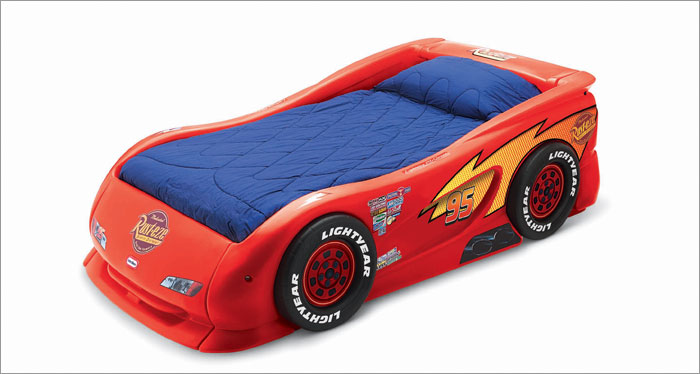kids cars toddler bed photo - 9