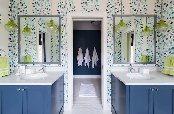 kids jack and jill bathroom ideas photo - 10