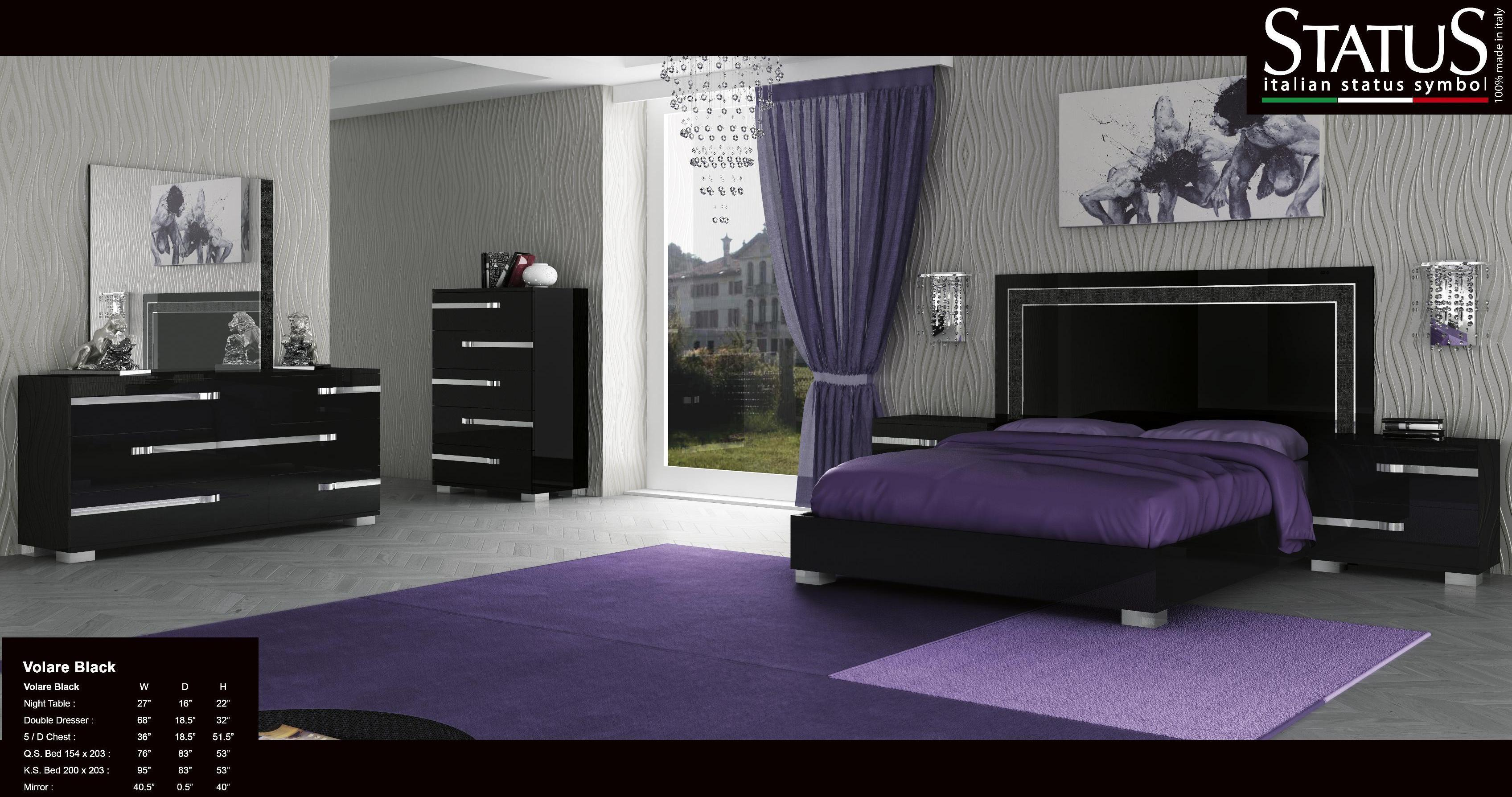 king size black bedroom furniture sets photo - 4