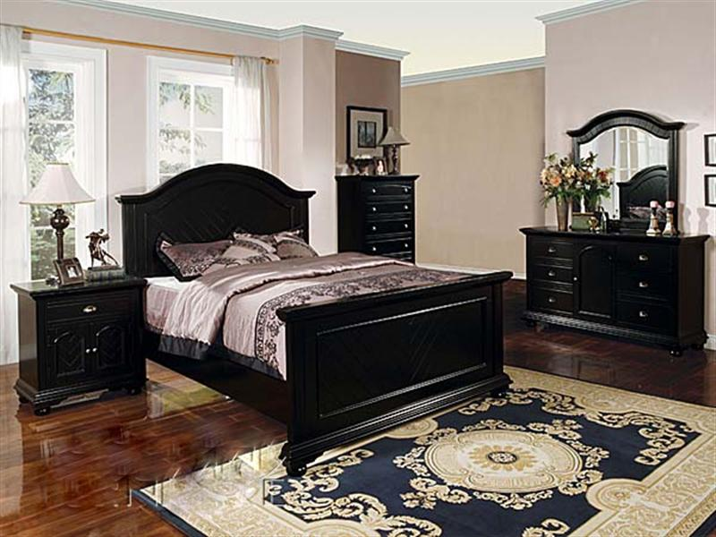 king size black bedroom furniture sets photo - 5