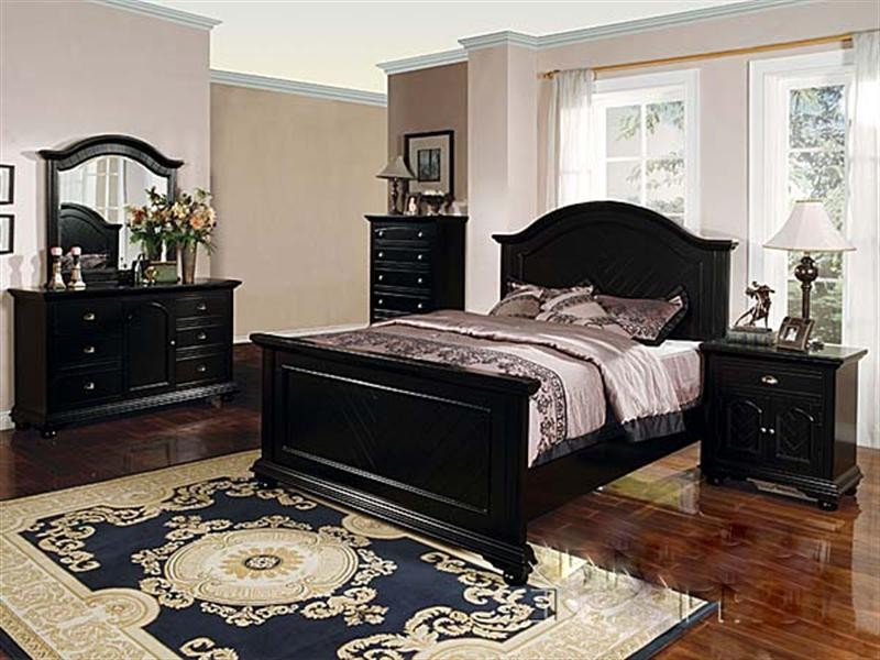 king size black bedroom furniture sets photo - 6
