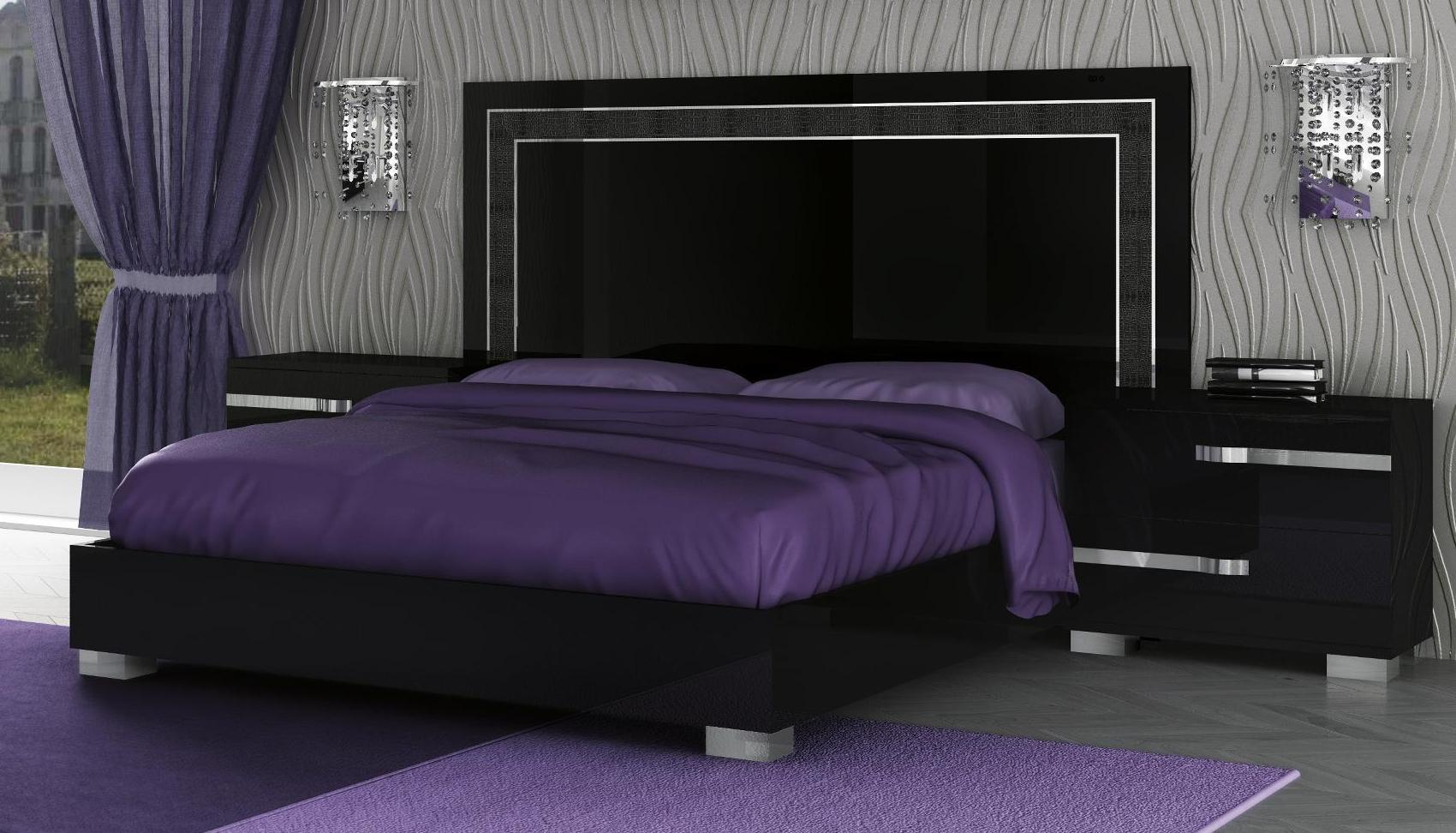 king size black bedroom furniture sets photo - 9