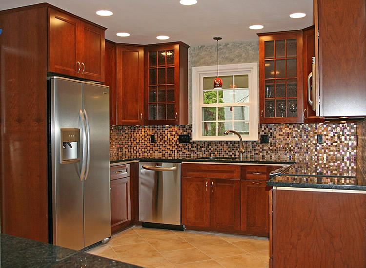 kitchen cabinet and granite ideas photo - 2