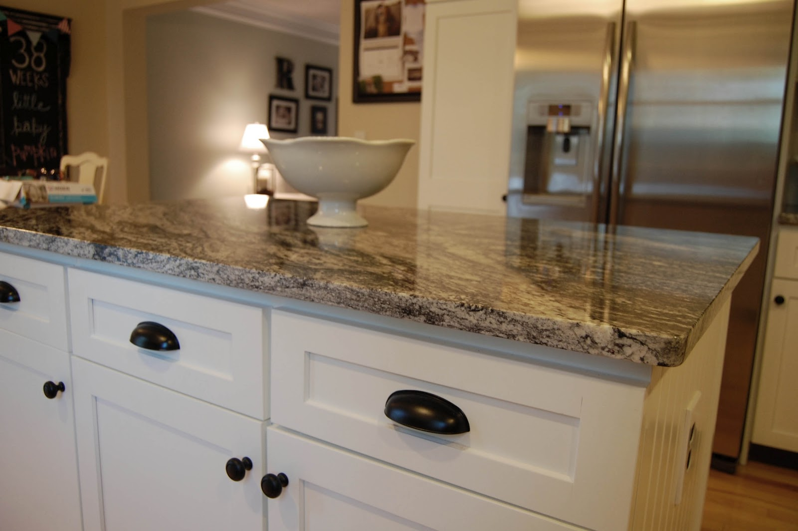 kitchen cabinet and granite ideas photo - 4