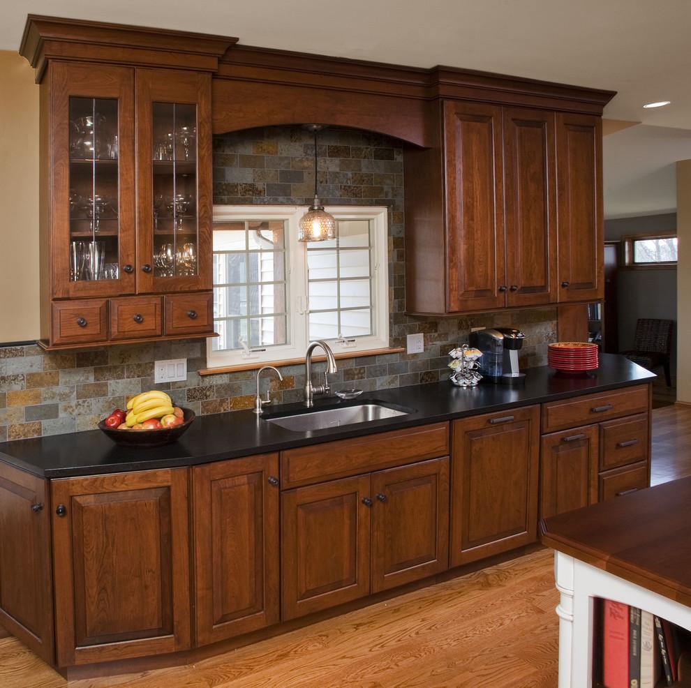 kitchen cabinet and granite ideas photo - 9