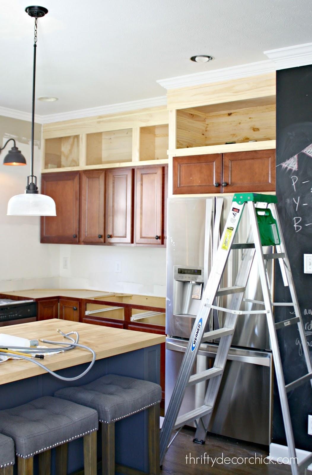 Kitchen cabinet building ideas   Hawk Haven